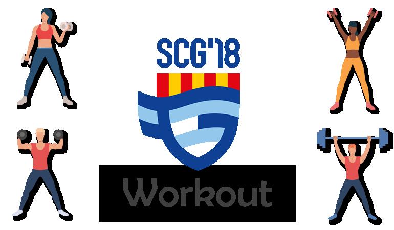 Blijf fit met de SCG'18 Workout - #3